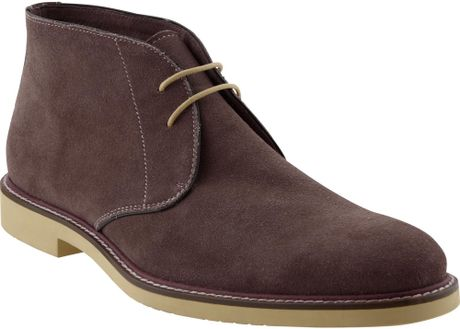 banana republic philip boot in brown for chocolate