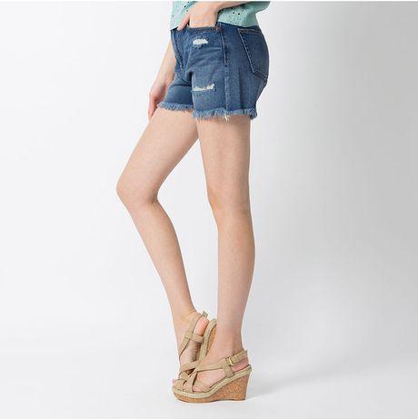 denim micro shorts - photo #8