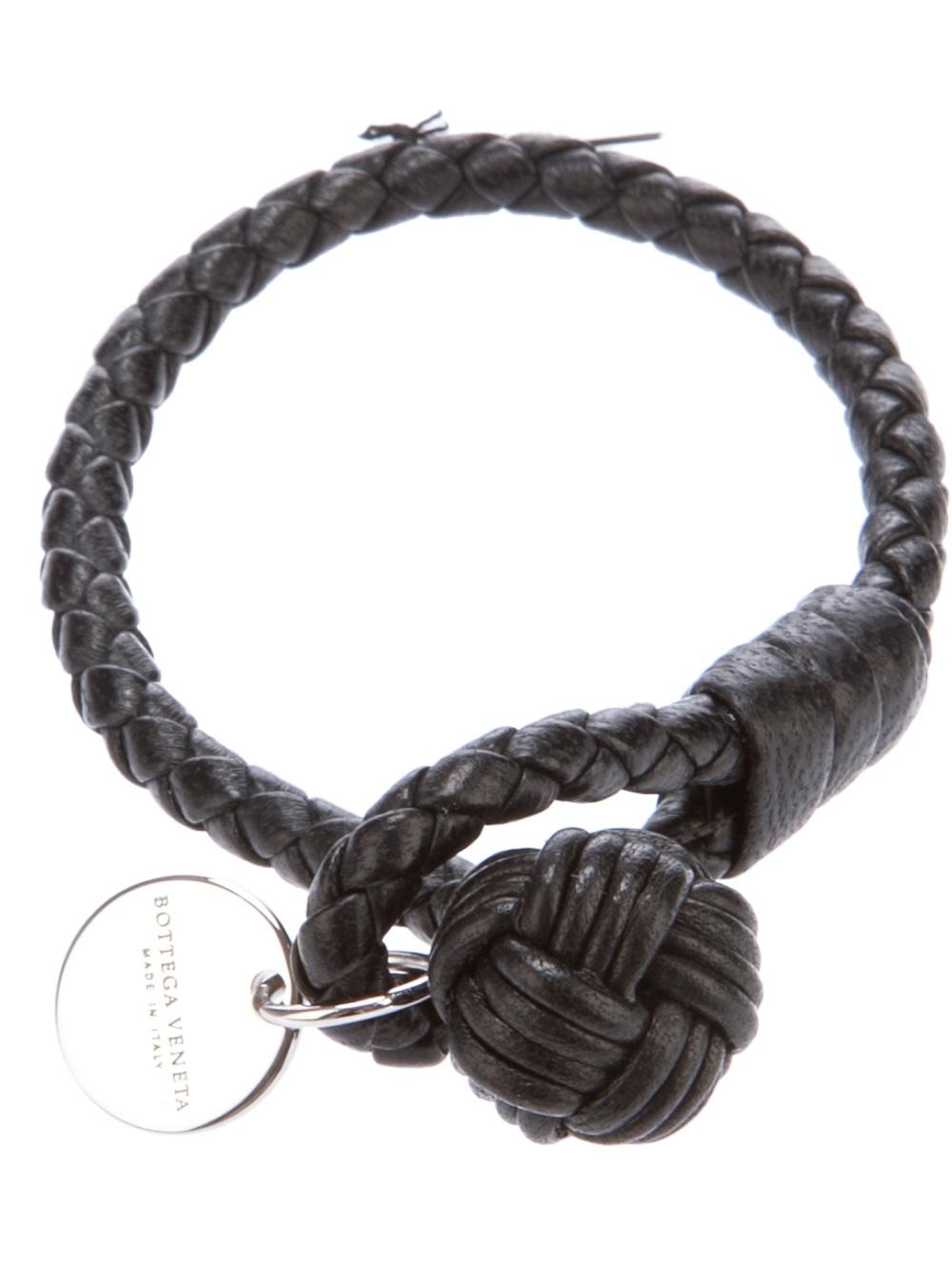 Single-wrap leather bracelet Bottega Veneta Wdfz7RAug