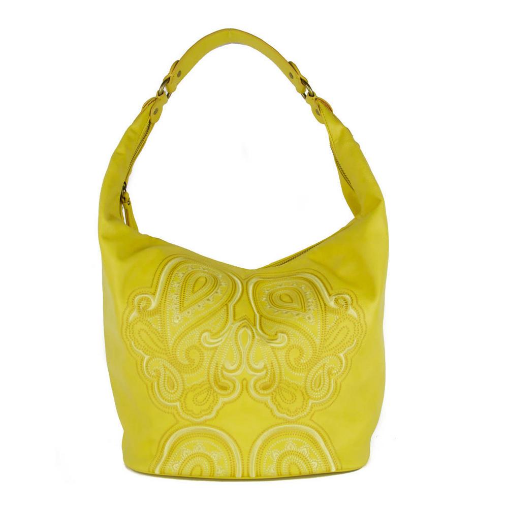 Jessica simpson bali yellow hobo in lyst