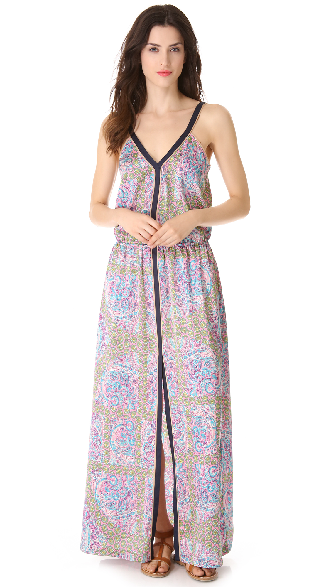 Lyst - Juicy Couture Imperial Starflower Maxi Dress