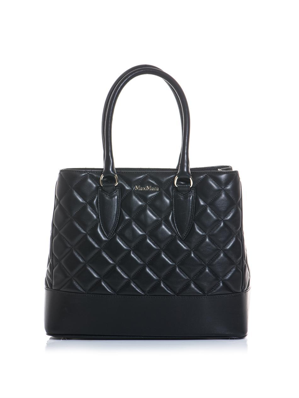 Lyst Max Mara Aurelia Bag In Black