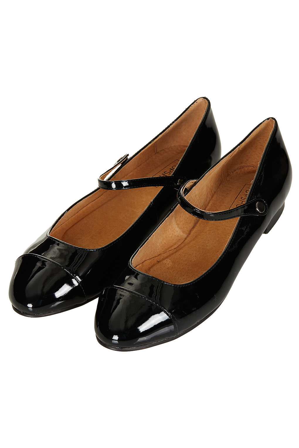 Topshop Dolly Shoes In Black Lyst