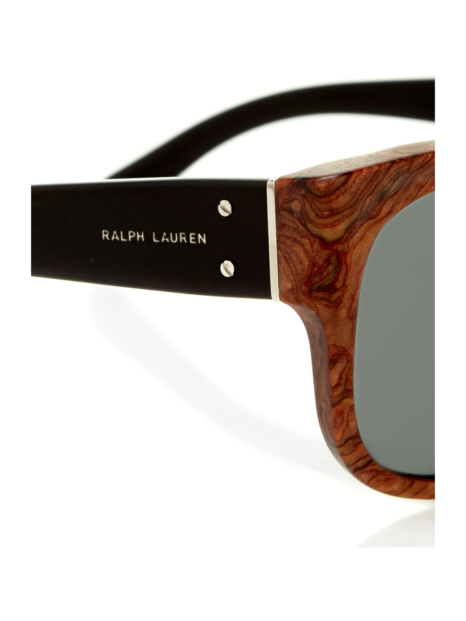 Ralph Lauren Sunglasses Mens  polo ralph lauren mens automotivesp sunglasses in brown for men lyst