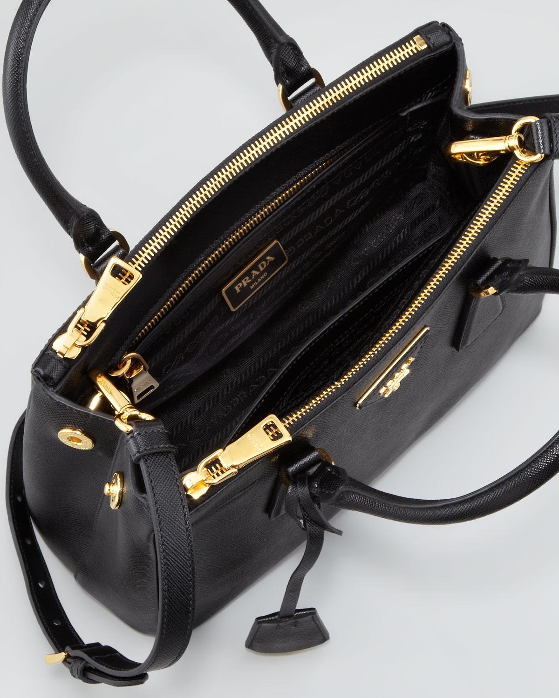 ... denmark lyst prada mini saffiano lux tote bag in black b9e28 7b1d6 acf6ad9f27df1