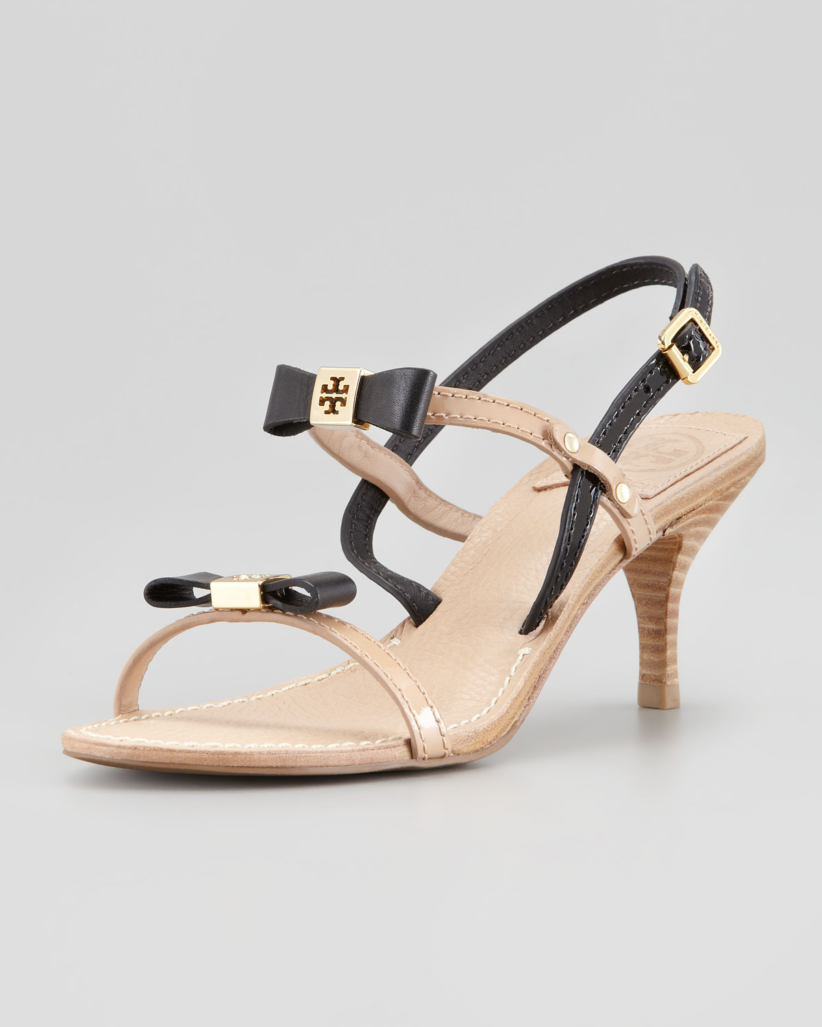 Tory Burch Kailey Wedge Thong Sandal in Natural - Lyst