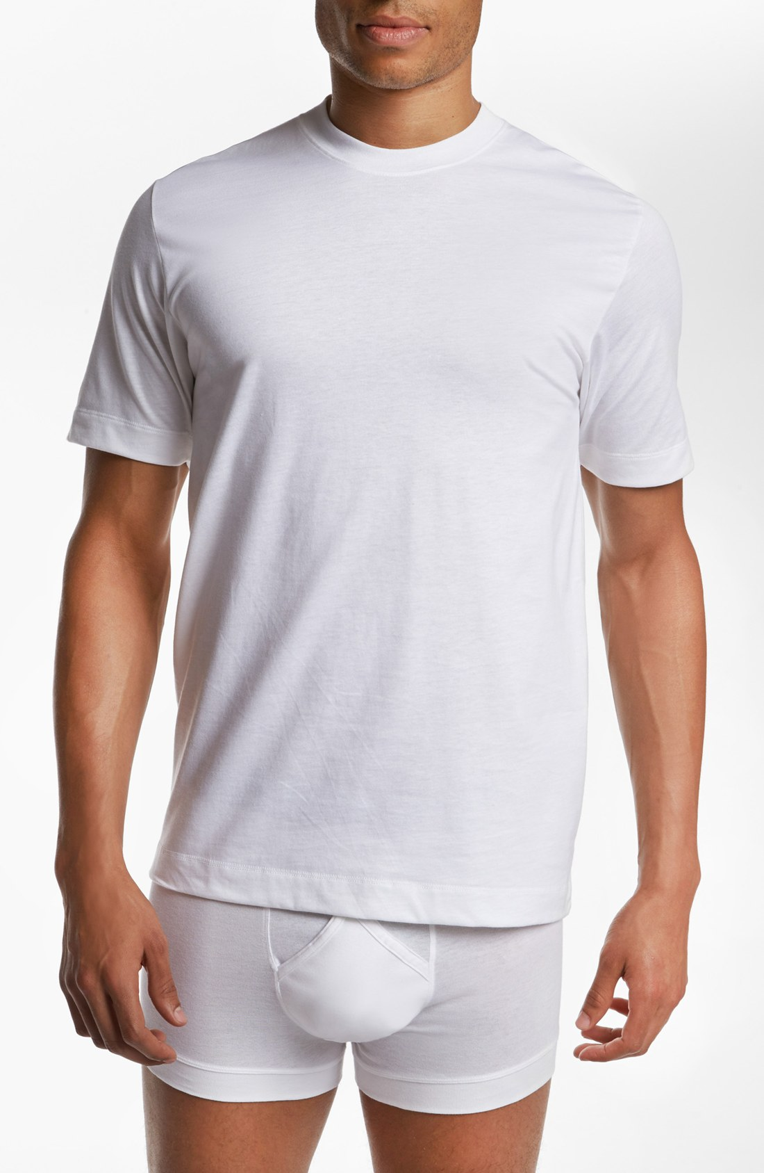 Coopers by jockey classic fit outlast t shirts 2pack in for Jockey t shirts sale