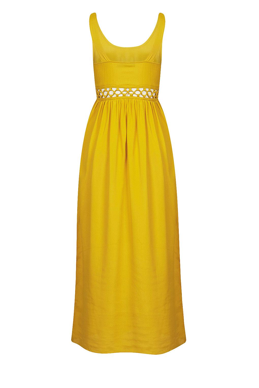 topshop bright yellow lace dress � dress online uk