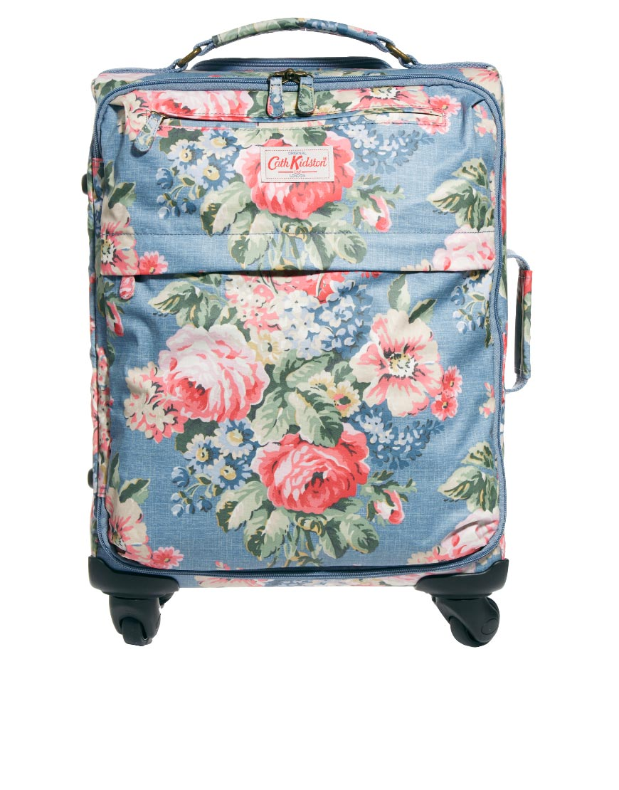 cath kidston cabin size suitcase lyst. Black Bedroom Furniture Sets. Home Design Ideas