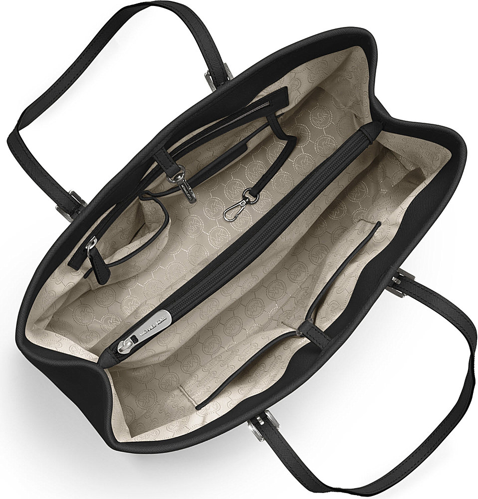 Michael Kors Jet Set Travel Käsilaukku : Michael kors jet set travel large saffiano leather tote in