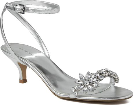9322eed1e Aerosole Sandals: Nine West Sandals In Silver