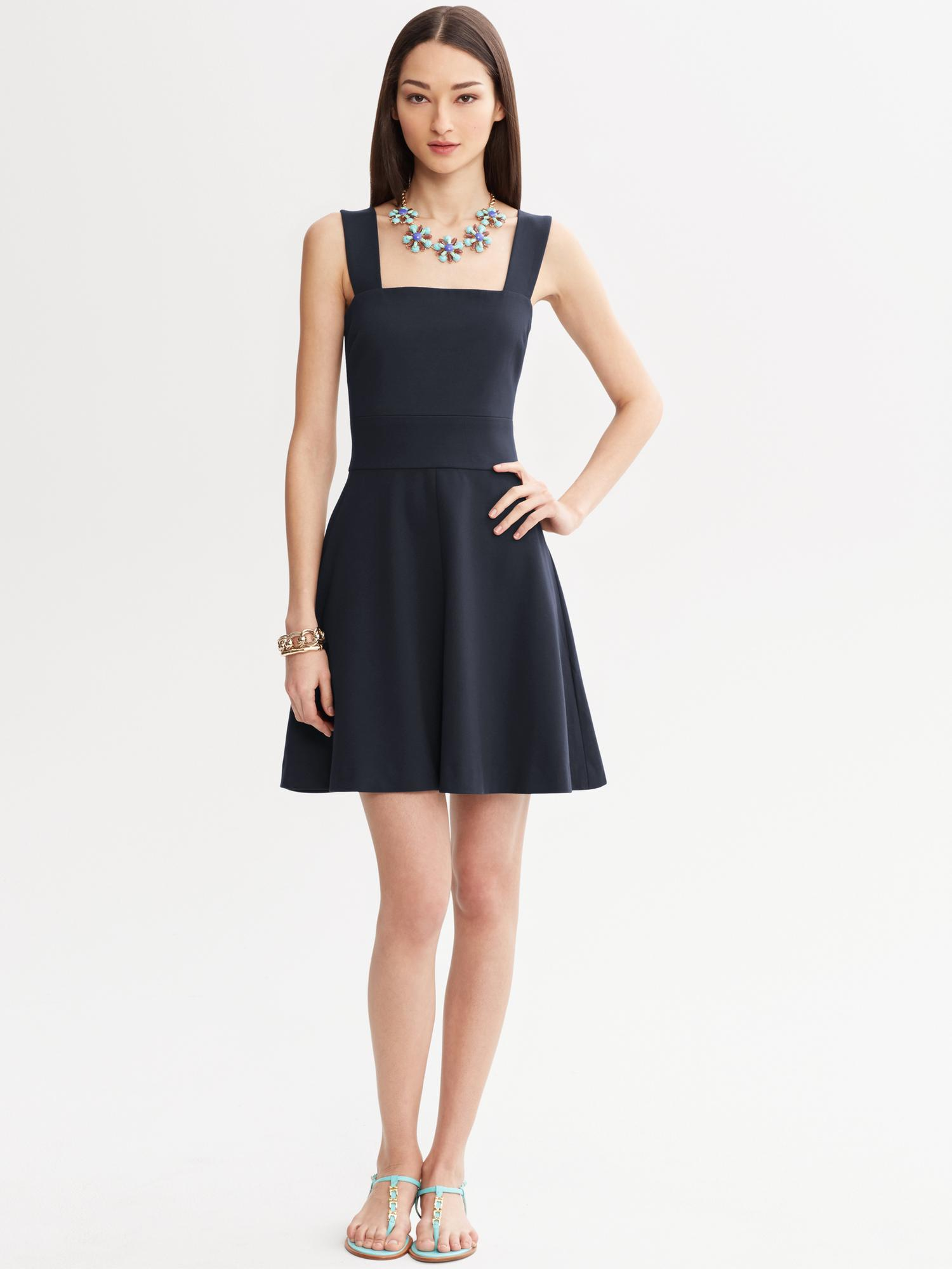 Banana Republic Milly Collection Fit And Flare Dress In