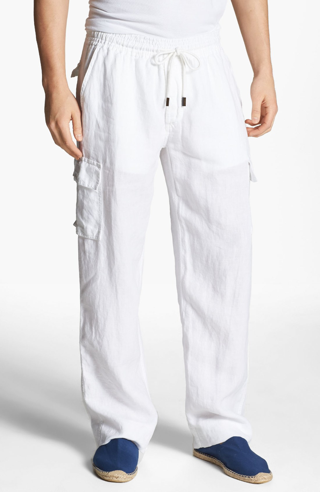 white linen pants men - Pi Pants