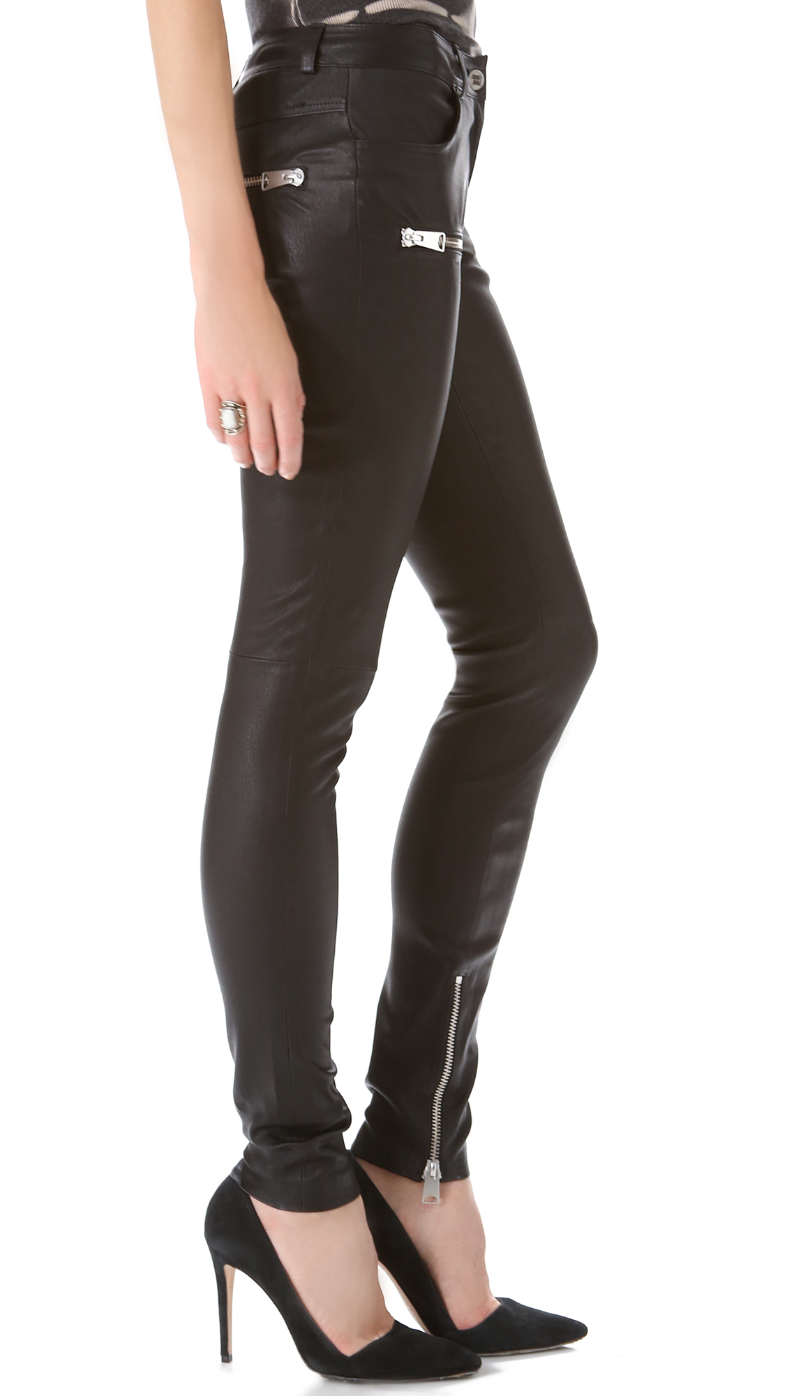International Concepts INC Women's Curvy Faux-Leather-Trim Pants (2, Deep Black) Sold by Rennde. $ $ International Concepts INC Women's Curvy Faux-Leather-Trim Pants (4, Deep Black) Bluelans Women Faux Leather Stretch Skinny Pants Leggings Plus Size Slim Fashion Trousers.