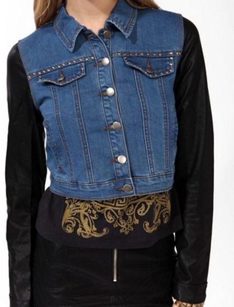 Women Coats & Jackets Jackets & Blazers Forever 21 Rodeo Denim Jacket