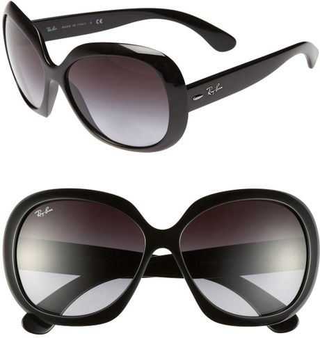 Ray-ban Large Vintage Round Frame Sunglasses in Black ...