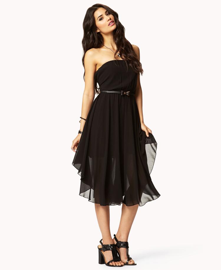black tube dress forever 21 - photo #2