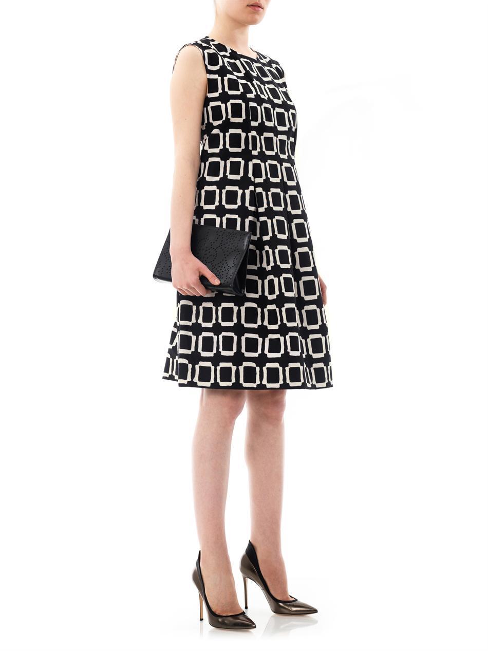 Lyst S Max Mara Varenna Dress In Black