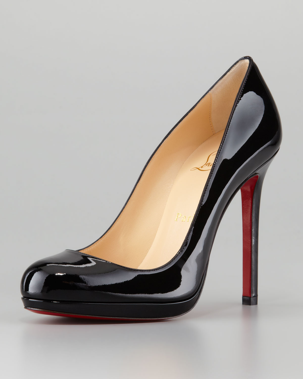 Christian Louboutin Lace Round-Toe Pumps buy cheap price outlet best wholesale A3ym8XF