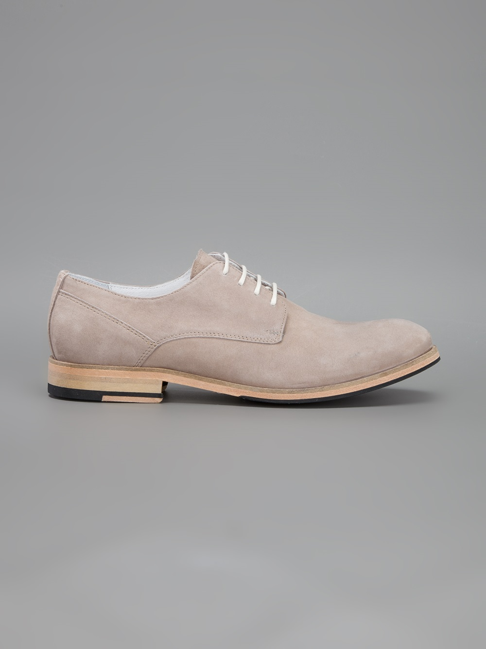 National Standard Classic Derby Shoe in Nude (Natural) for Men