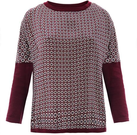 Weekend By Maxmara Tenore Sweater in Red (burgundy)