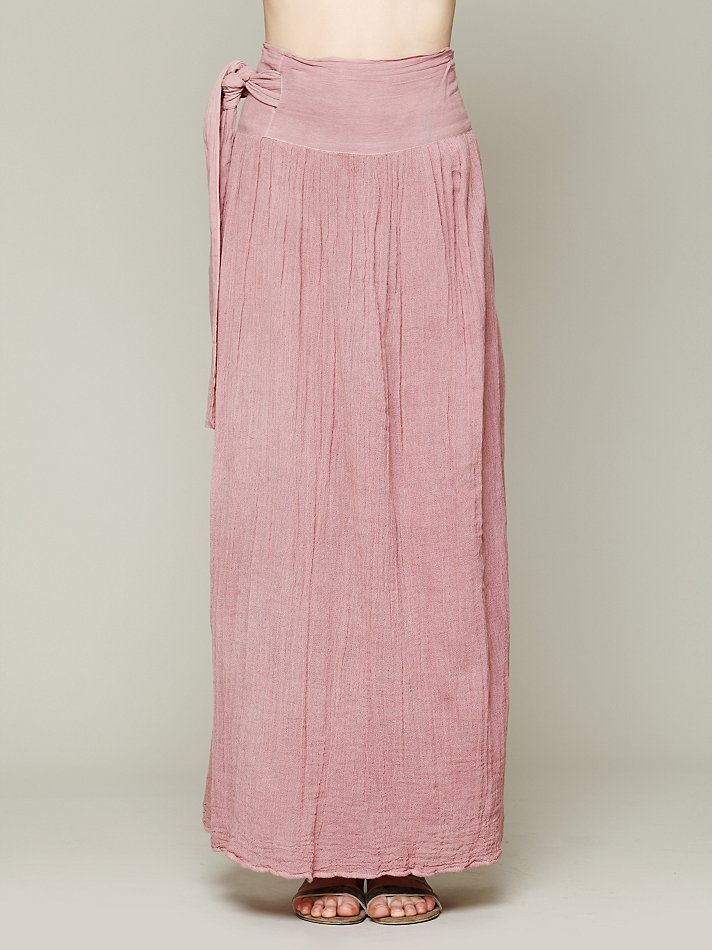jen s pirate spinner maxi skirt in pink lyst