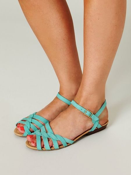 Clementine Sandal in Green
