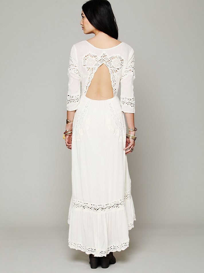Lyst - Free People Mexican Wedding Dress in White