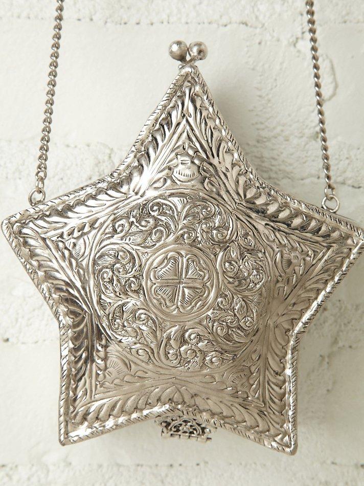 Free People Jewel Crossbody Bag in Metallic