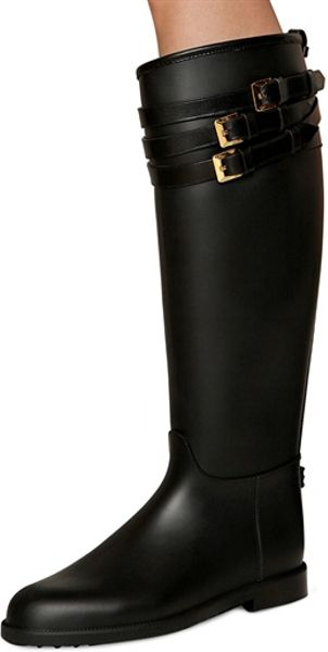 Burberry 20mm Rippon Rubber Rain Boots In Black Lyst