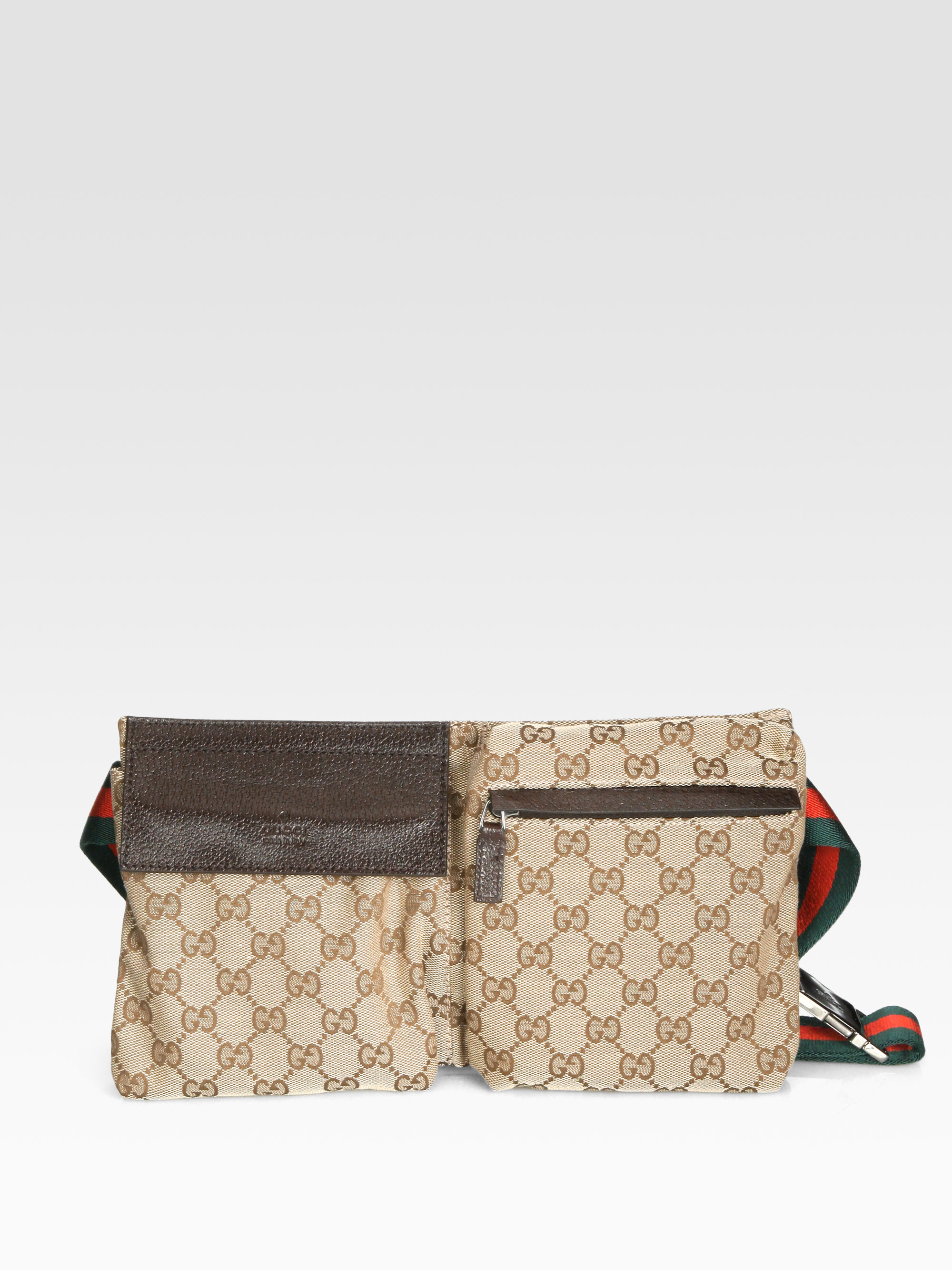 803726624c1 Lyst Gucci Original Gg Canvas Belt Bag In Natural