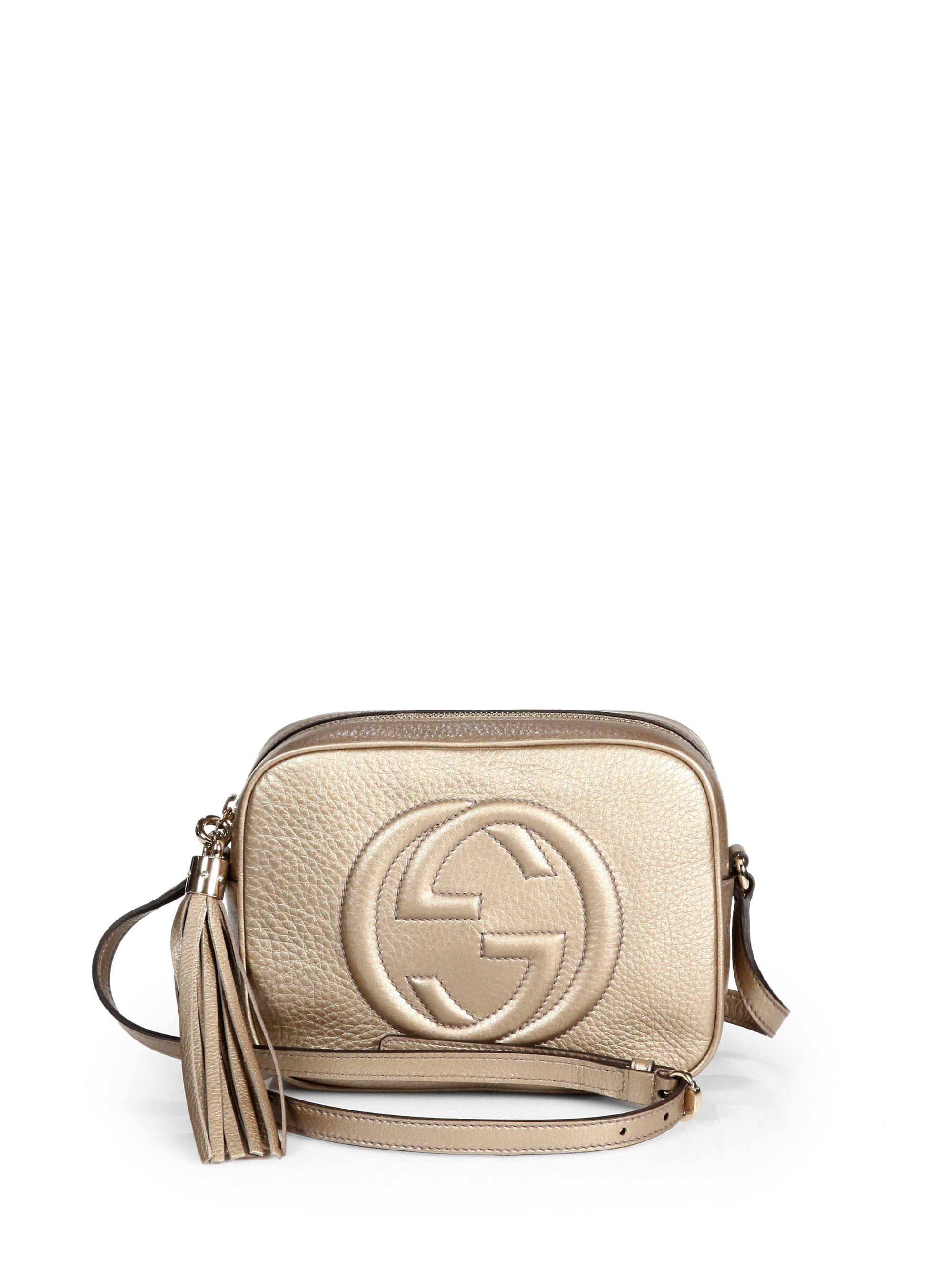 1e369f9e12 Gallery. Previously sold at: Saks Fifth Avenue · Women's Gucci Soho Bag