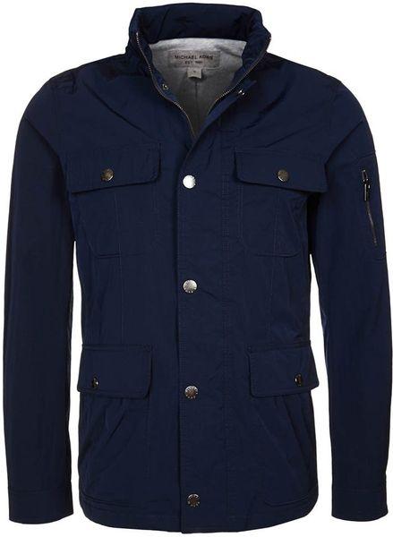 Michael Kors Summer Jacket Blue in Blue for Men