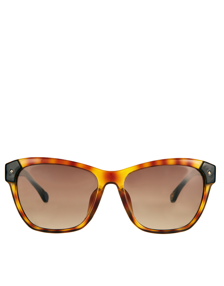 3d74dbc2a9966 Michael Kors Zoey Sunglasses in Brown - Lyst