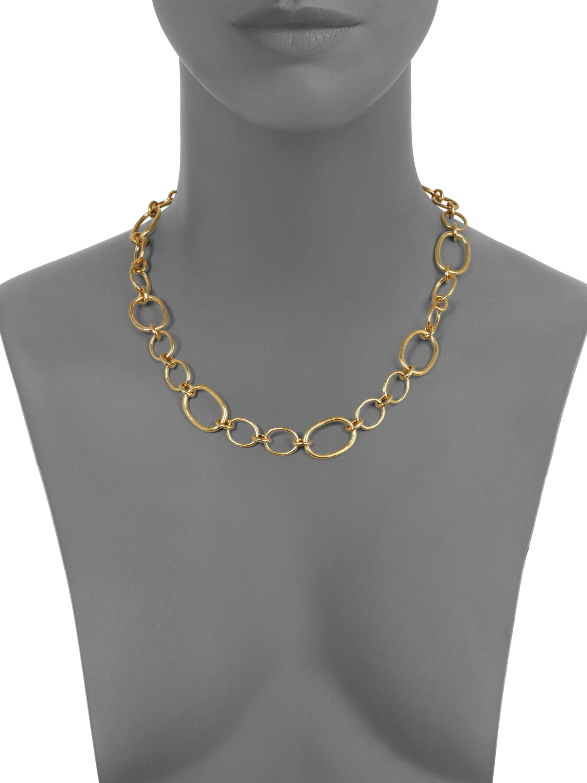 necklaces uk jewellery ubu bijouled from oval link necklace