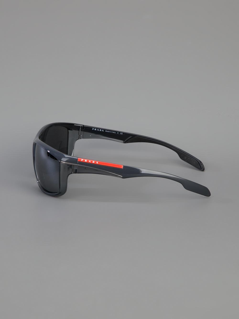 339695479712 ... reduced lyst prada wrap around sunglasses for men 89ecf 2a080