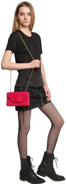 Saint Laurent Betty Medium Chain Leather Shoulder Bag 30
