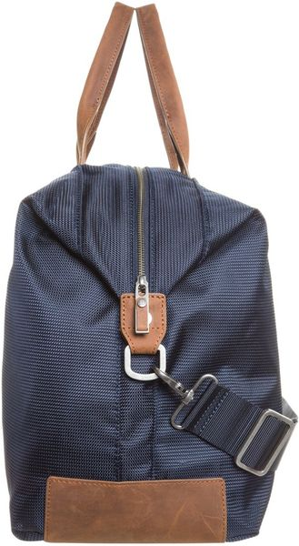 tommy hilfiger keane duffle weekend bag blue in blue for men lyst. Black Bedroom Furniture Sets. Home Design Ideas