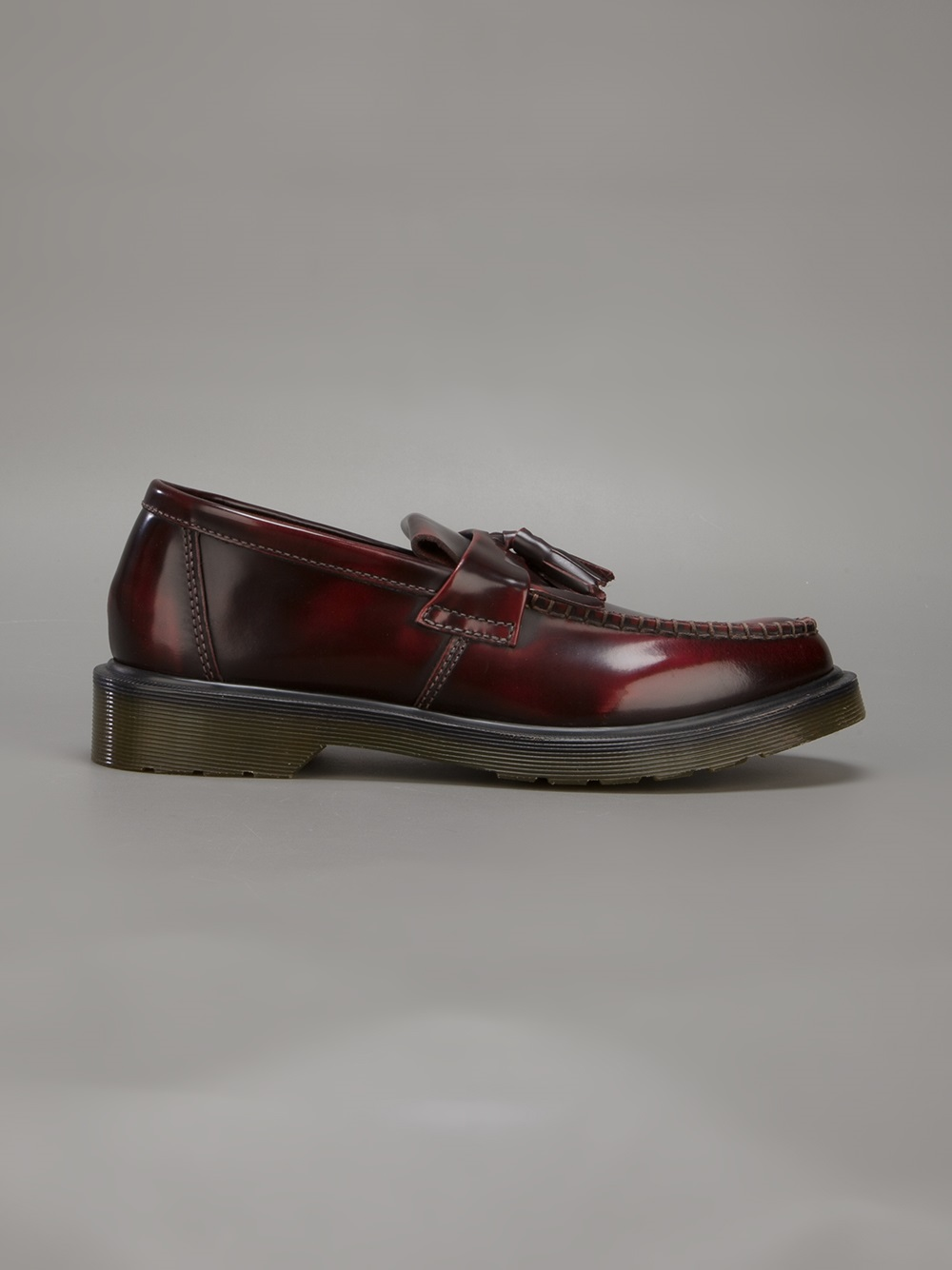 Dr. Martens Core Adrian Loafer in Burgundy (Red) for Men