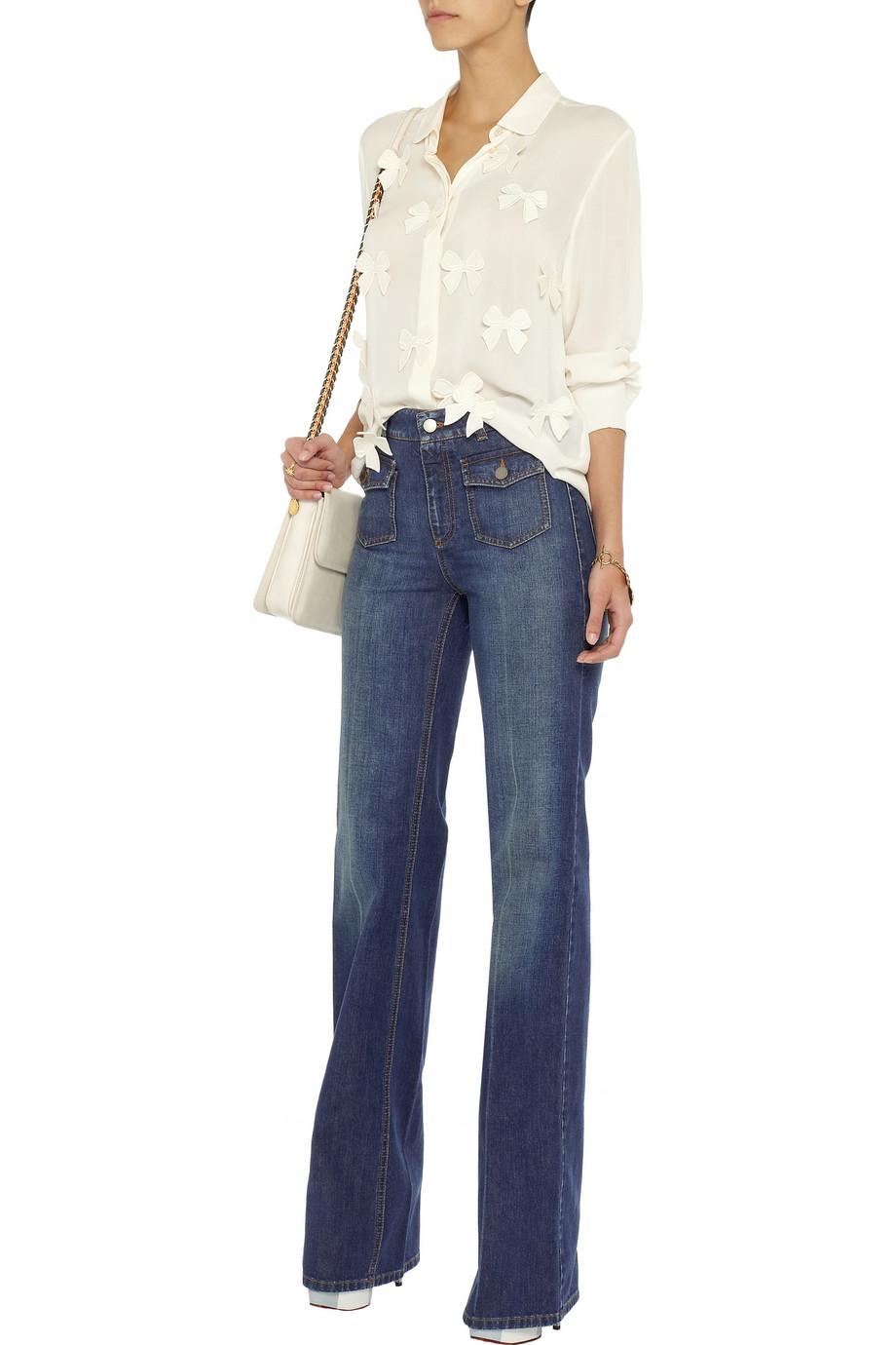 High waist jeans Stella McCartney I9YPJ