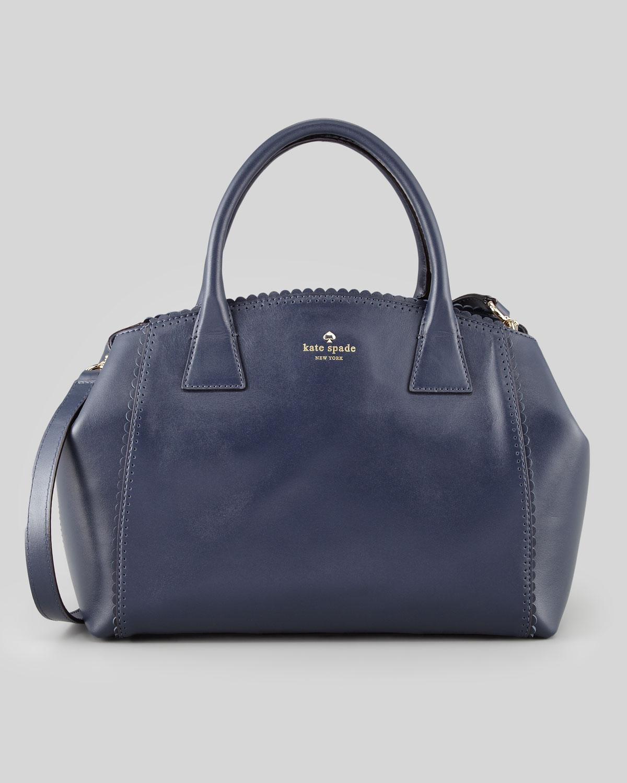 Kate Spade Palm Springs Sloan Tote Bag Navy in Blue (DARK BLUE)