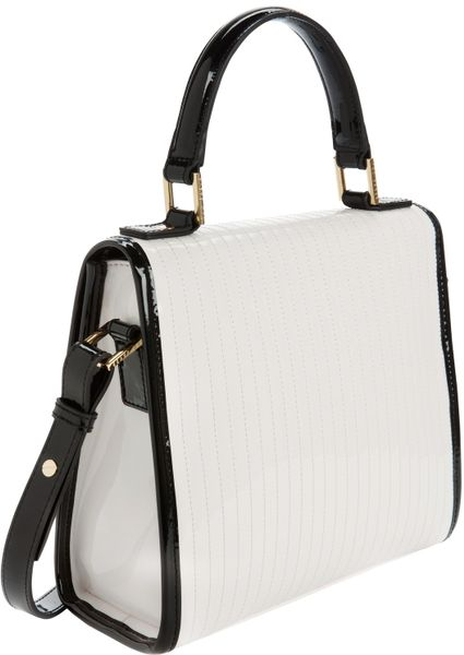e7f984a5adc Tory Burch Tote Bag: Ted Baker Small Quilted Tote Bag Mataro White