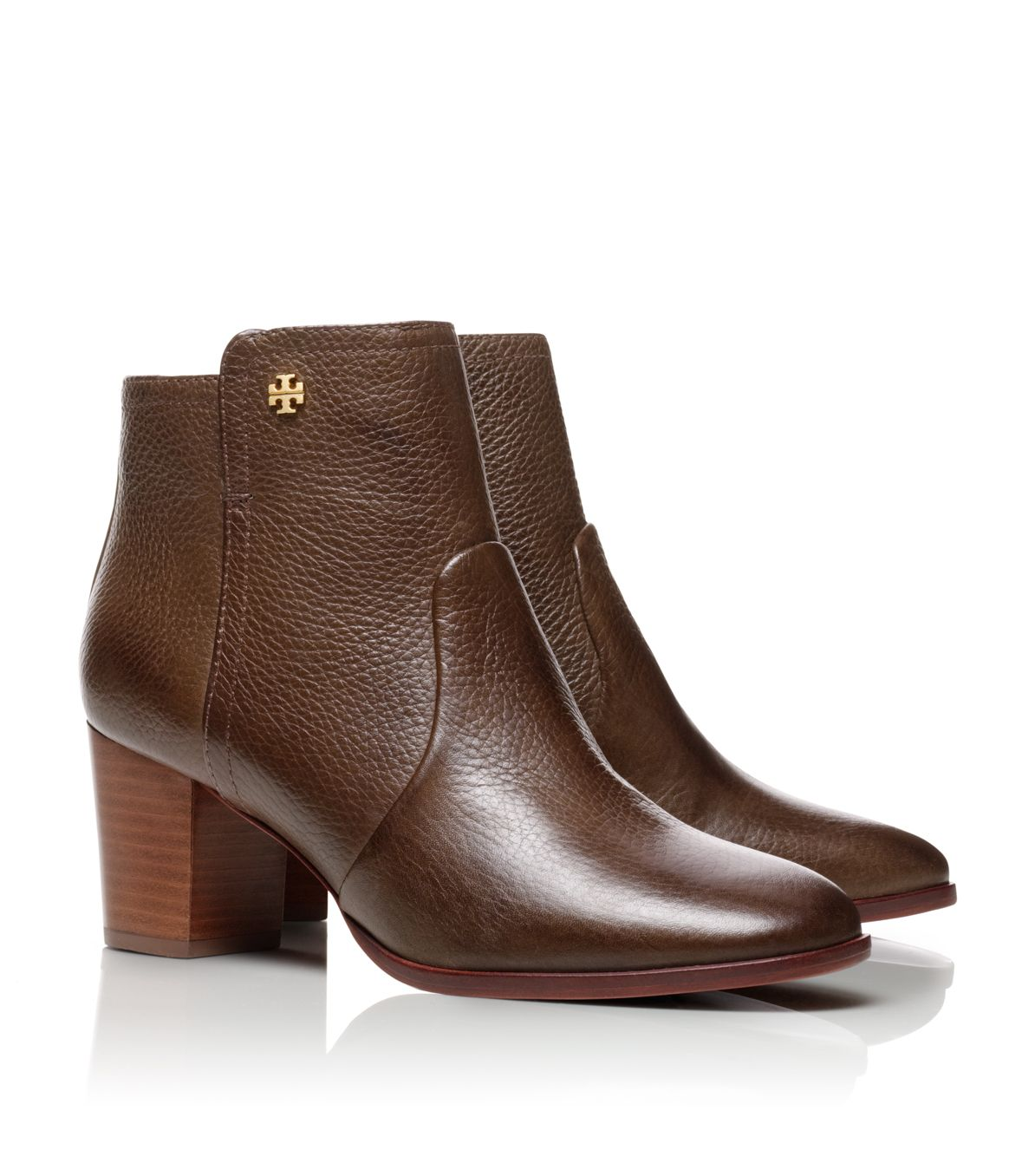Lyst Tory Burch Sabe Bootie In Brown