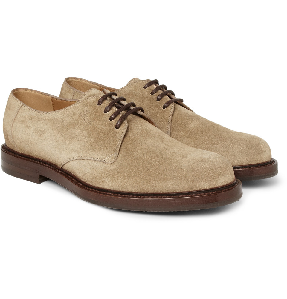 Suede Gucci Men Shoes