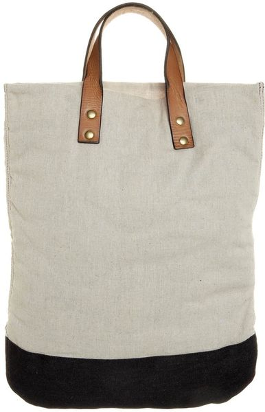 Scotch Amp Soda Tote Bag Beige In Beige For Men Lyst