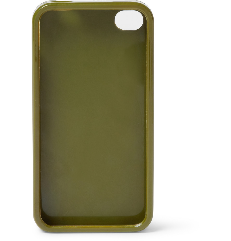 ... by marc jacobs Camo Print Case For Iphone 44s in Green for Men : Lyst