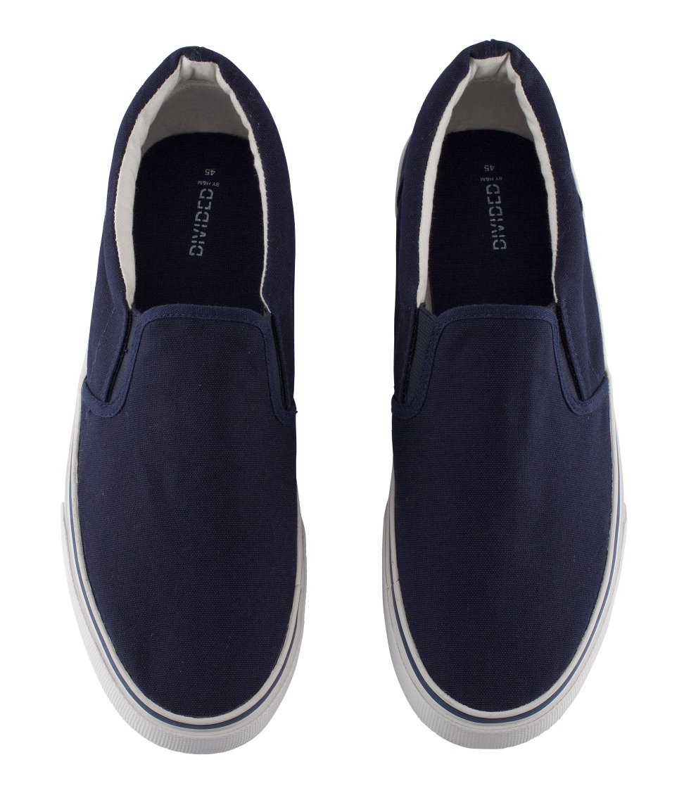h m shoes in blue for lyst