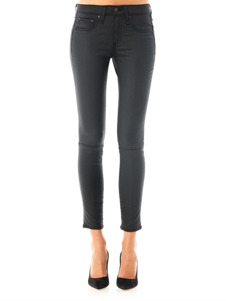 Rag & Bone Devi Shoreditch Midrise Skinny Jeans In