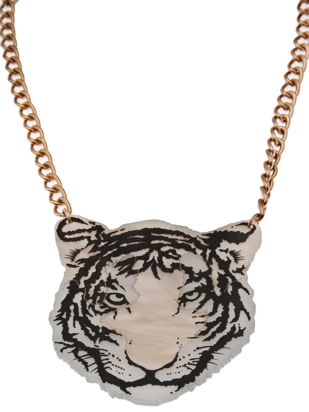 Tatty Devine Tiger Necklace Lyst
