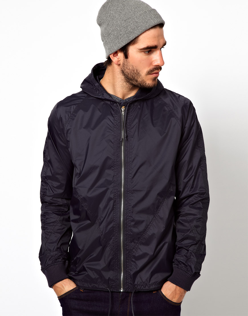 Ymc Parachute Jacket In Blue For Men Navy Lyst
